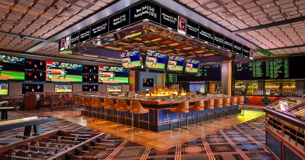 Las Vegas Luxury Hotel | Race & Sports Book Bar | The Cosmopolitan