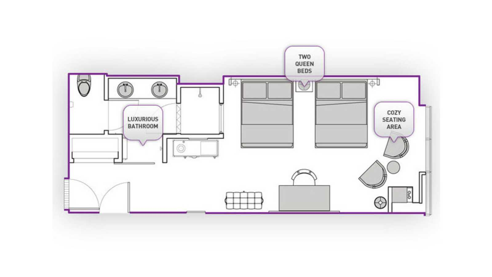 City Room floor plan