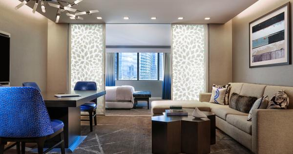 Las Vegas Luxury Hotel Executive Suite The Cosmopolitan Magnificent Cosmopolitan 2 Bedroom Suite