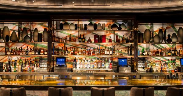 Clique Las Vegas Cocktail Lounge The Cosmopolitan
