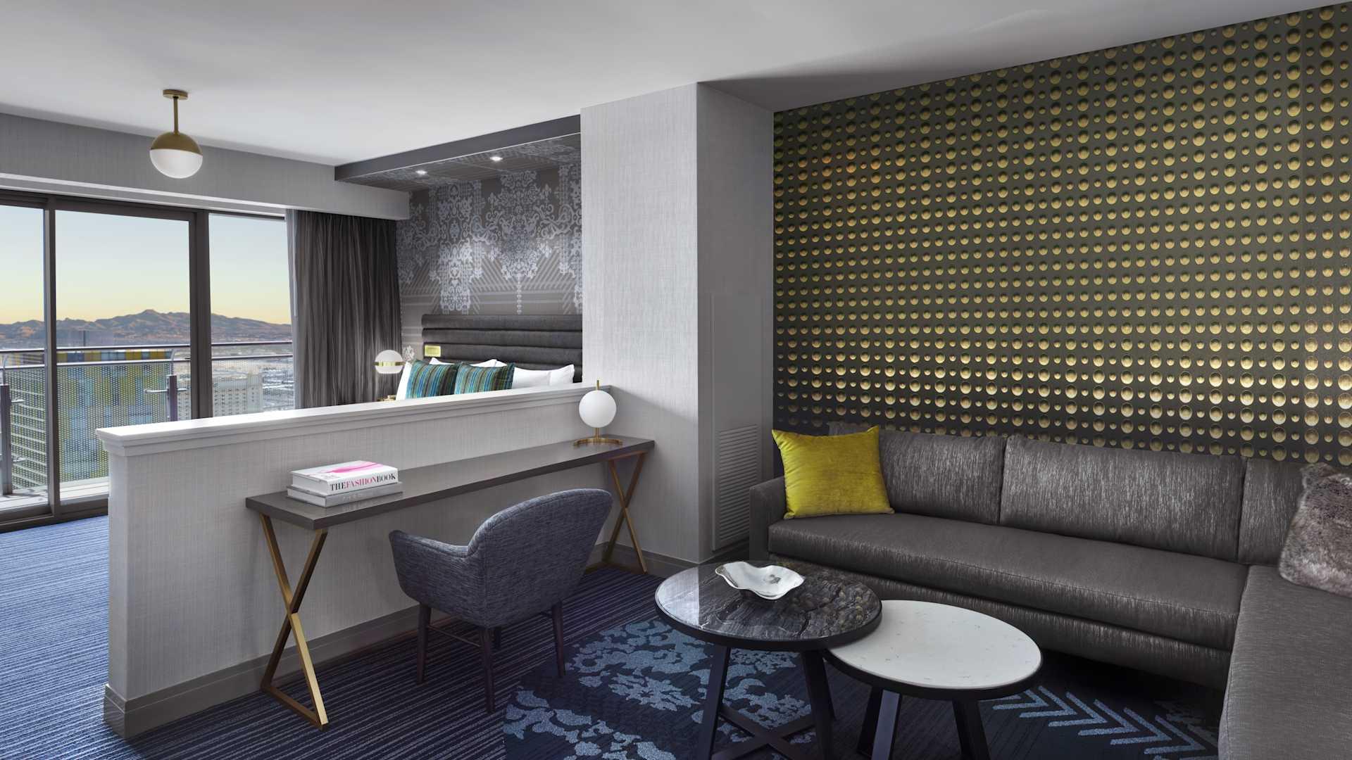 Remarkable Las Vegas Luxury Hotel Terrace Studio The Cosmopolitan Beutiful Home Inspiration Xortanetmahrainfo