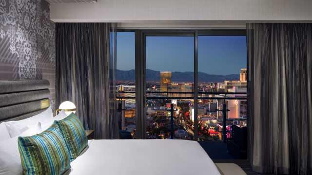 Las Vegas Luxury Hotel The Cosmopolitan Magnificent Cosmopolitan 2 Bedroom City Suite Concept Property