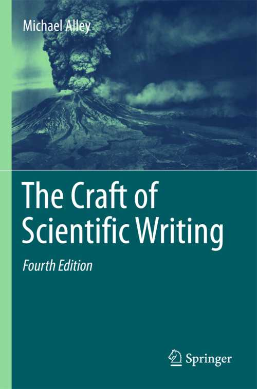 Buy The Craft of Scientific Writing on Amazon