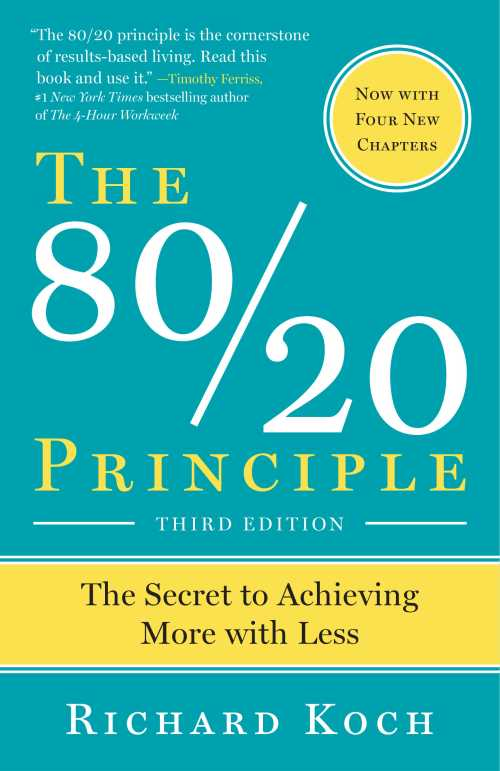 Buy The 80/20 Principle on Amazon