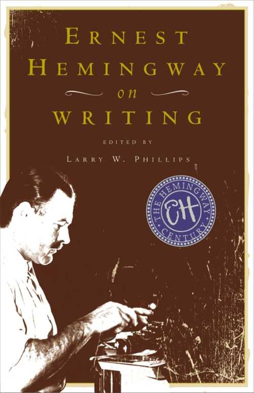 Buy Ernest Hemingway on Writing on Amazon