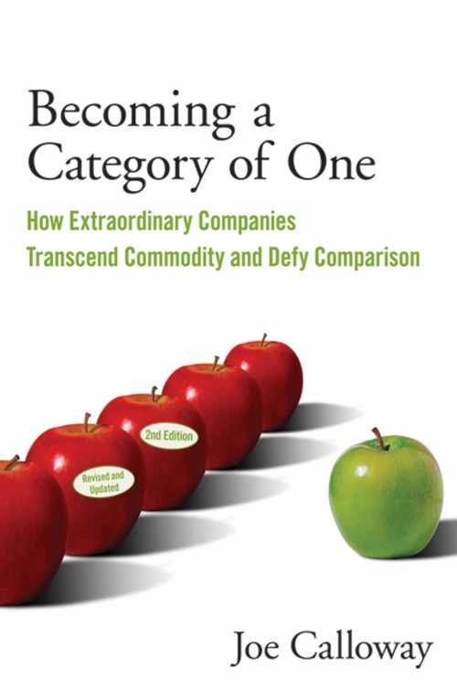 Buy Becoming a Category of One on Amazon