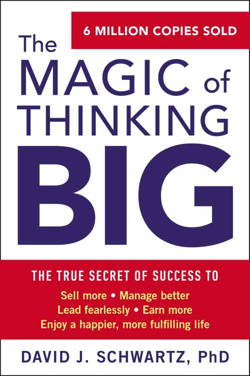 Buy The Magic of Thinking Big on Amazon