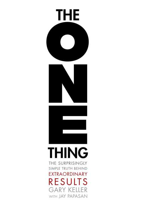 Buy The One Thing on Amazon