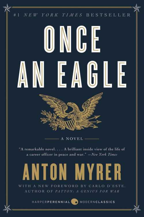 Buy Once An Eagle on Amazon