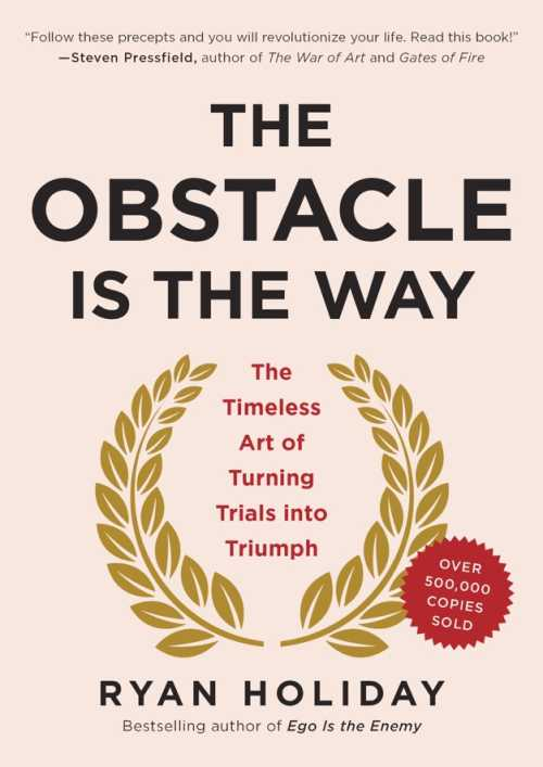 Buy The Obstacle Is the Way on Amazon