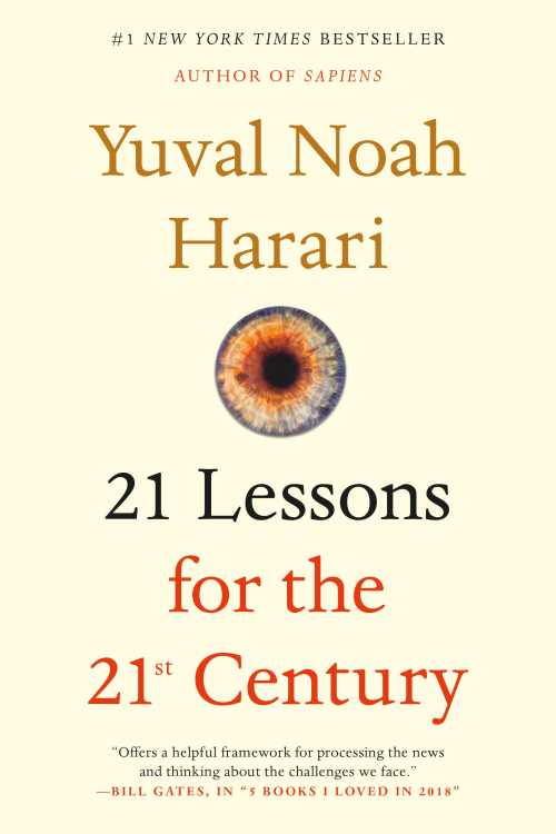 Buy 21 Lessons for the 21st Century on Amazon