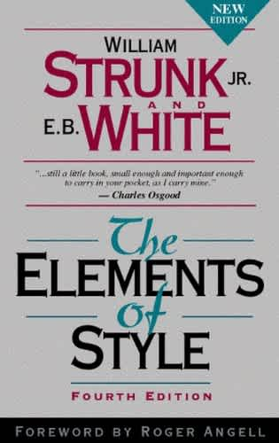 Buy The Elements of Style on Amazon
