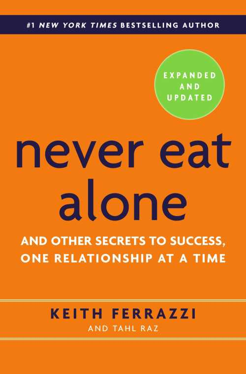 Buy Never Eat Alone on Amazon