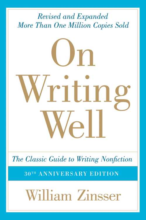 Buy On Writing Well on Amazon