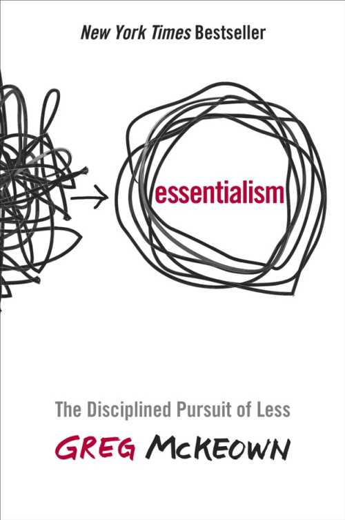 Buy Essentialism on Amazon