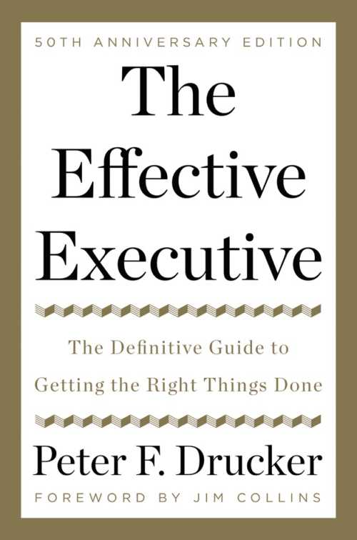 Buy The Effective Executive on Amazon