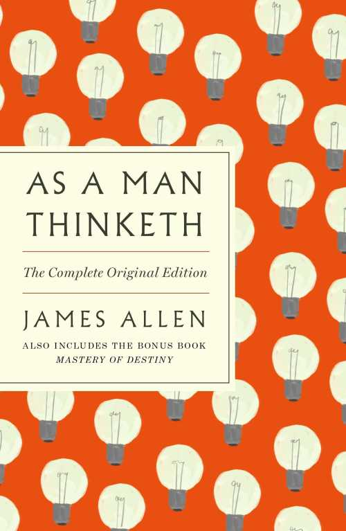 Buy As a Man Thinketh on Amazon