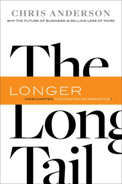 Buy The Long Tail on Amazon