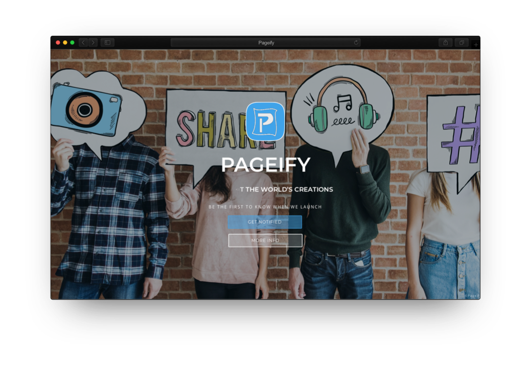 Pageify project image
