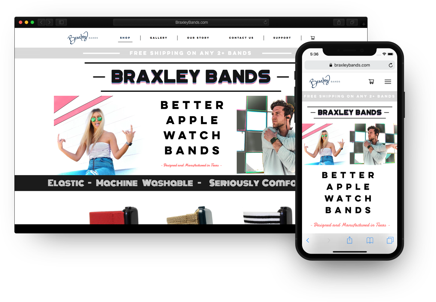 Braxley Bands project image