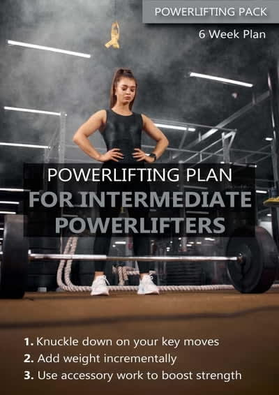 Intermediate powerlifting