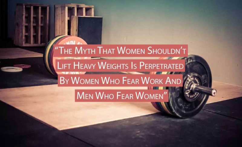 Women's Weightlifting Myths Debunked!