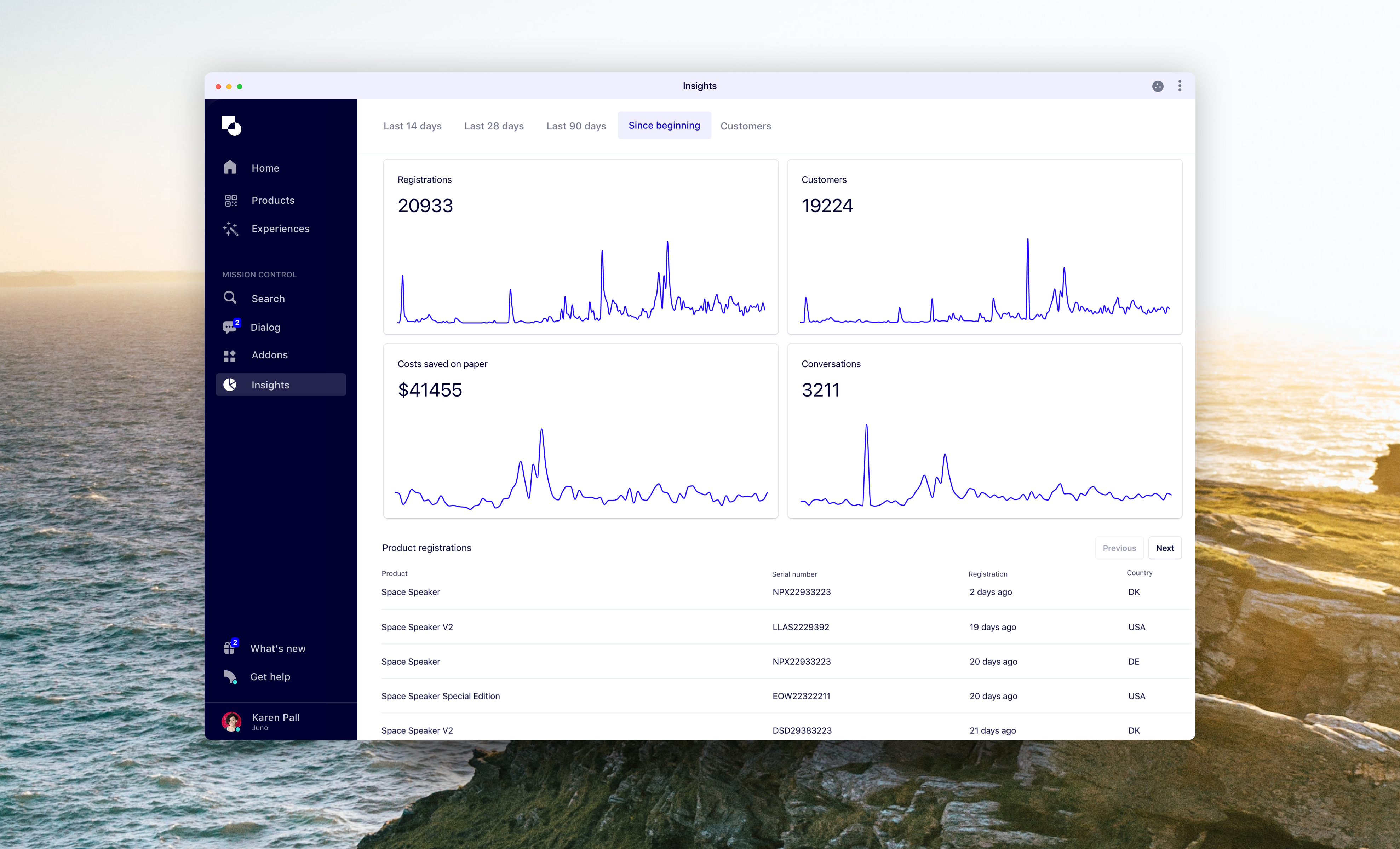 Better insights - Product Announcements