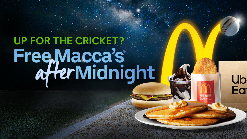 Free Macca's® After Midnight | Uber Eats | Blogue