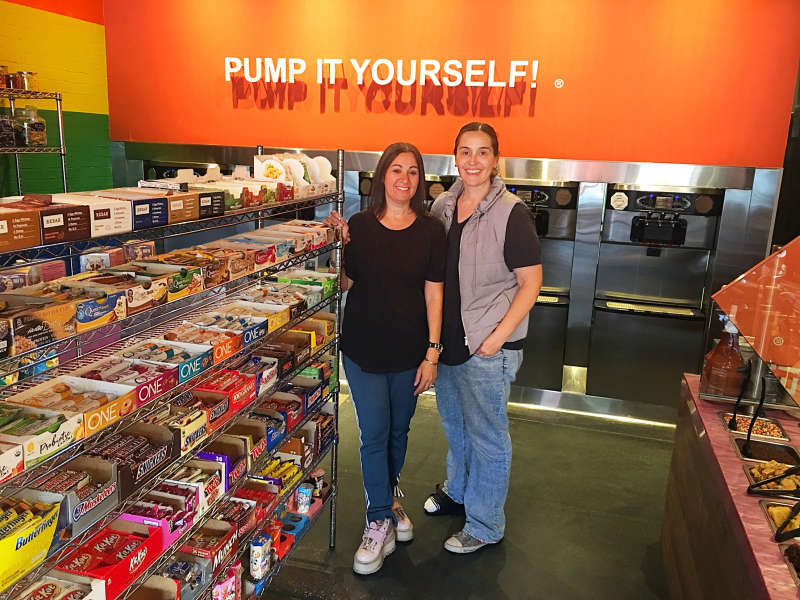 Marta Knittel and Shoshana Joseph, Yogurt Stop