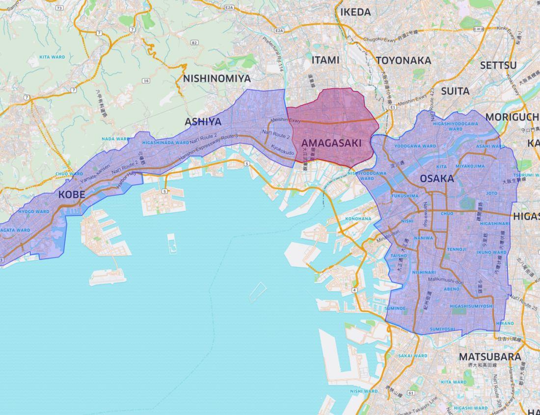 Expansion Kobe