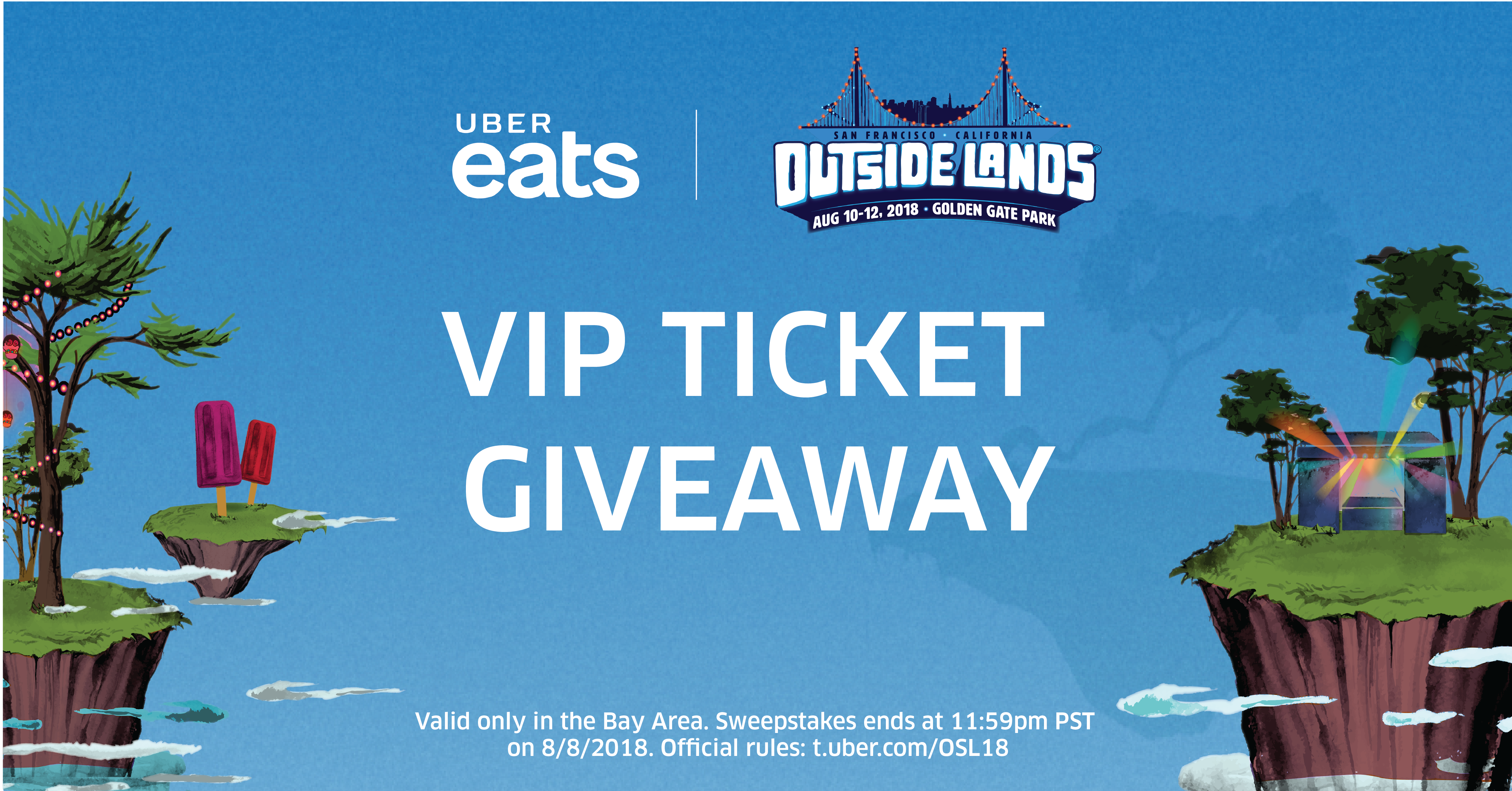 Uber Eats + Outside Lands Sweepstakes Official Rules | Uber