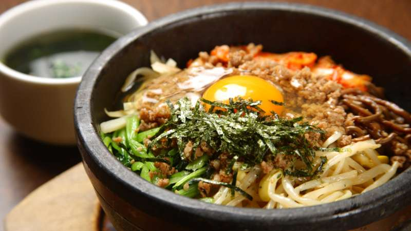 Traditional Korean food - Bibmbap