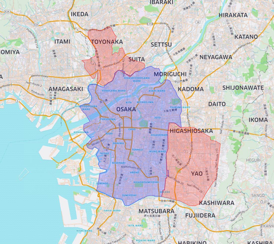 Kansai Area