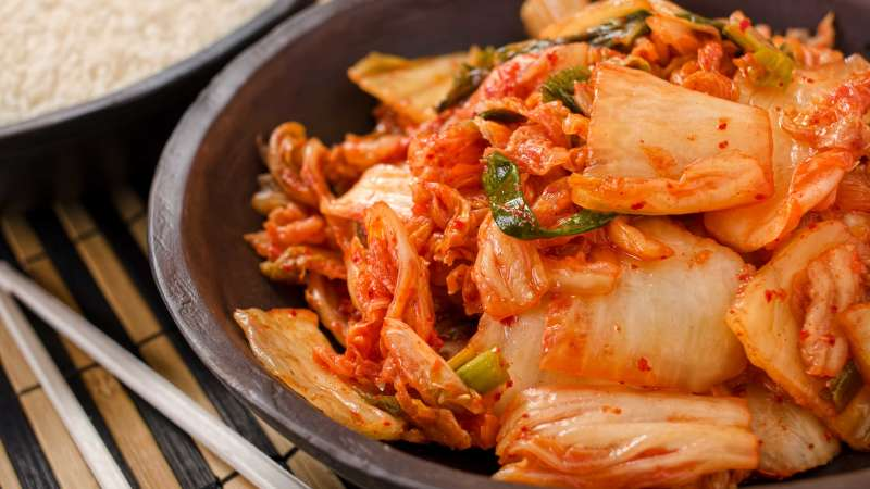 Traditional Korean Food - Kimchi