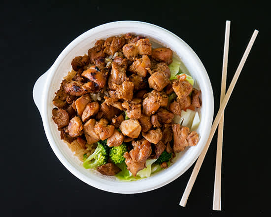 Flame Broiler Chicken Bowl