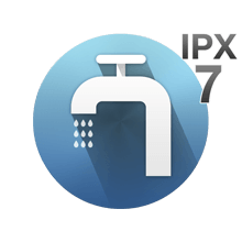 Fully washable IPX7
