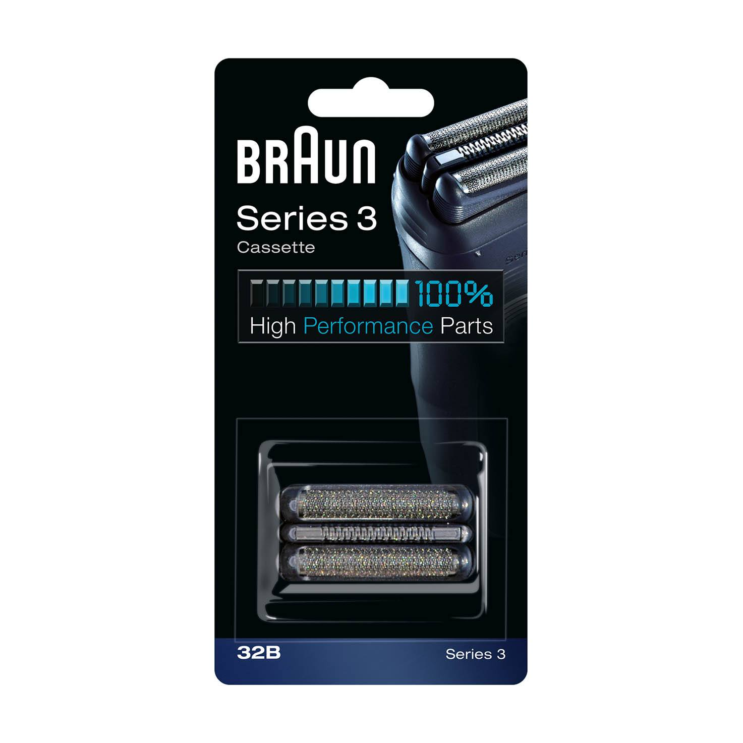 Braun Series 3 Replacement Head 32b Pack 1 Count