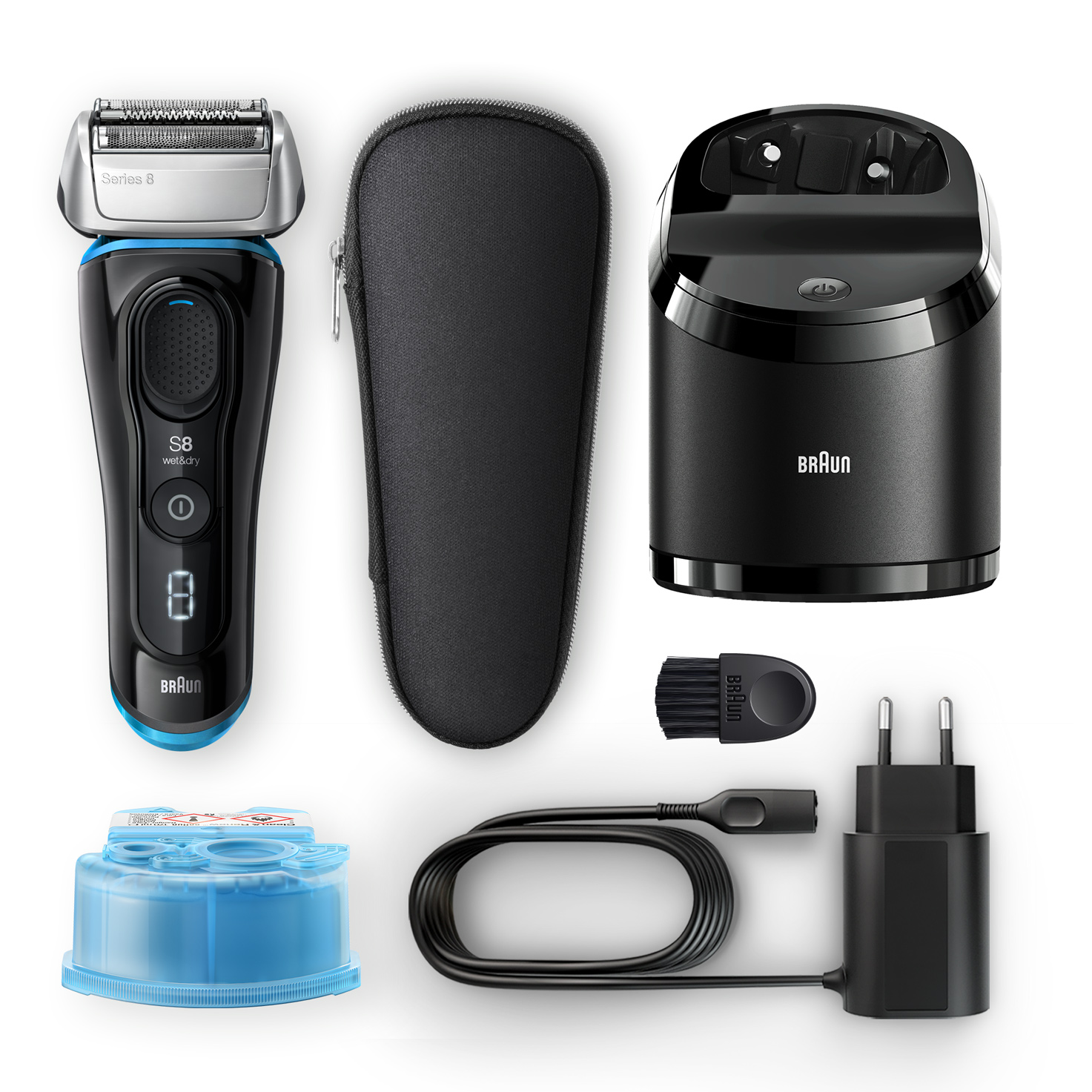 Series 8 8385cc shaver - What´s in the box