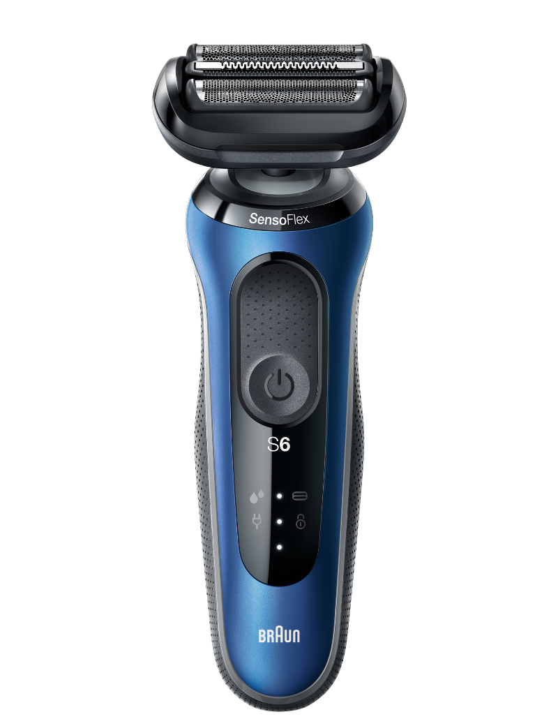Series 6 60 Wet & Dry shaver Cobalt blue