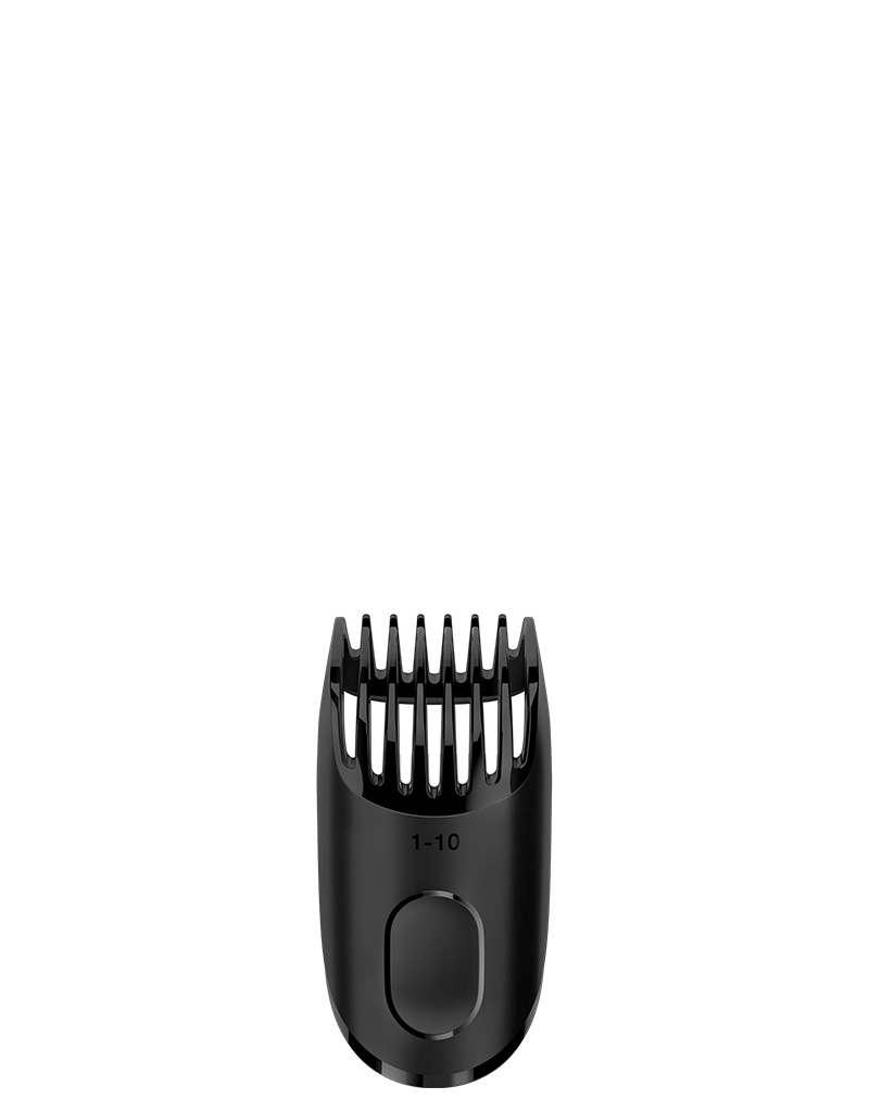 Hair clipping comb 1 - 10 mm for the Braun Beard trimmer