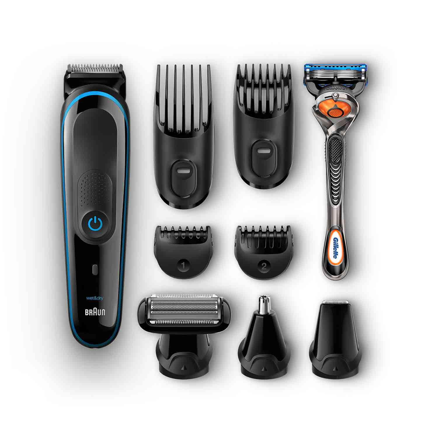 Braun multi grooming kit MGK3080 what´s in the box