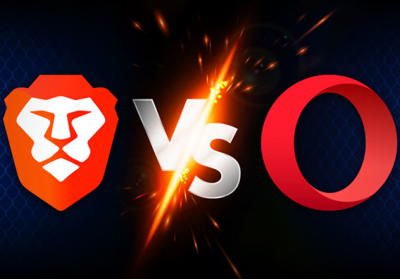 Browser battle: Brave and Opera compete for crypto users