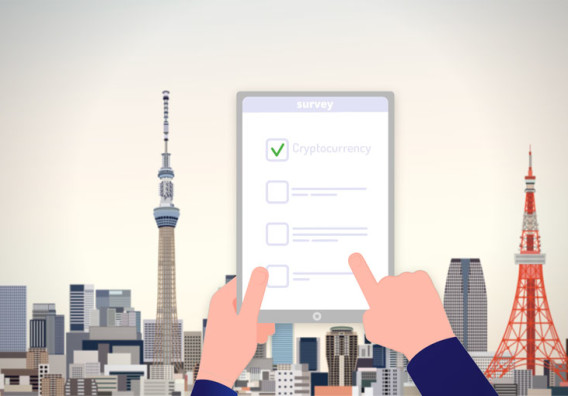 33% of Japanese survey participants are receptive to cryptocurrency