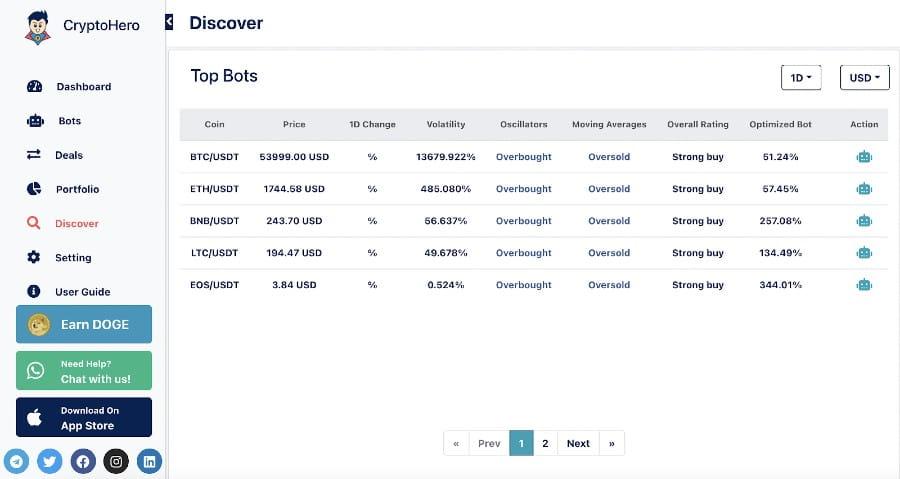 bitcoin kereskedési bot platform)