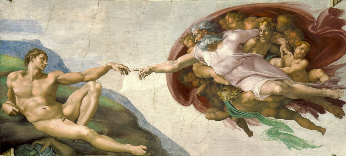 The Creation of Adam- Michelangelo