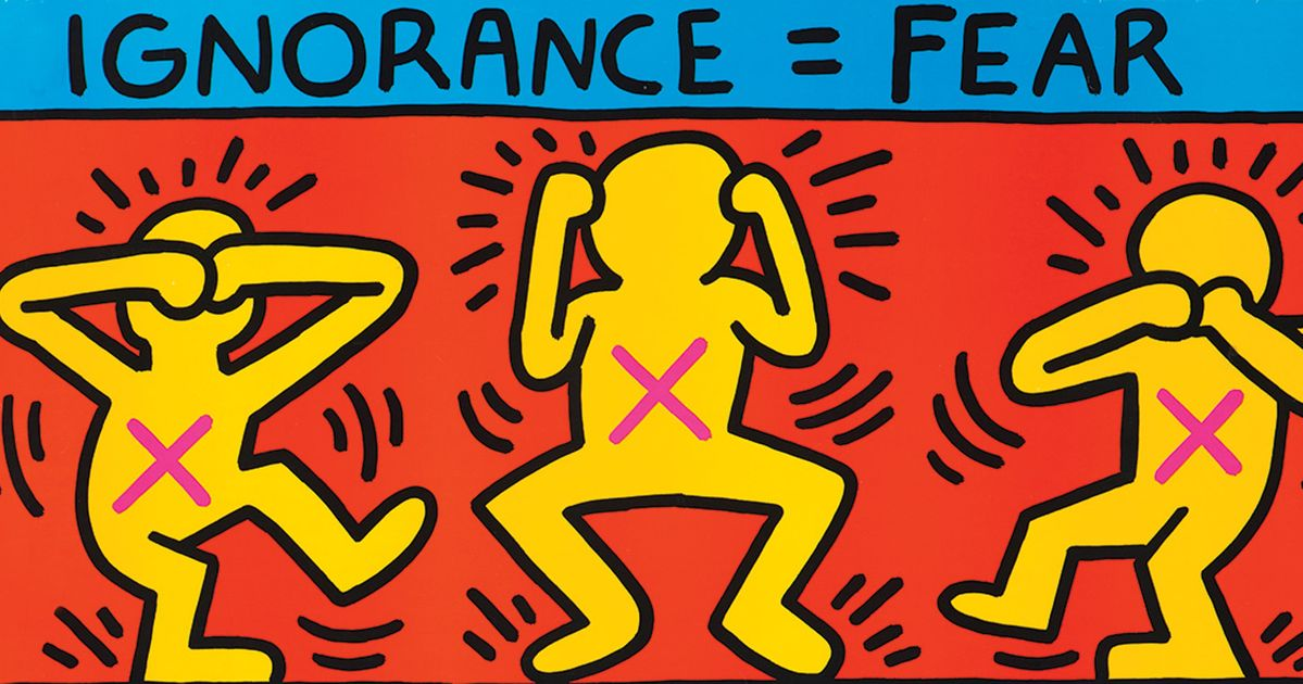 Keith Haring - ignorance