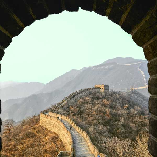 Gran Muralla china en China
