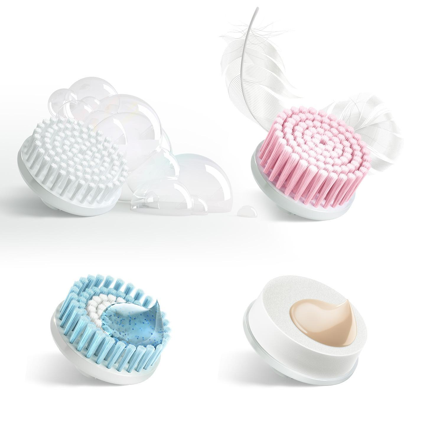 Braun facial cleansing brush refill duo pack 80-m