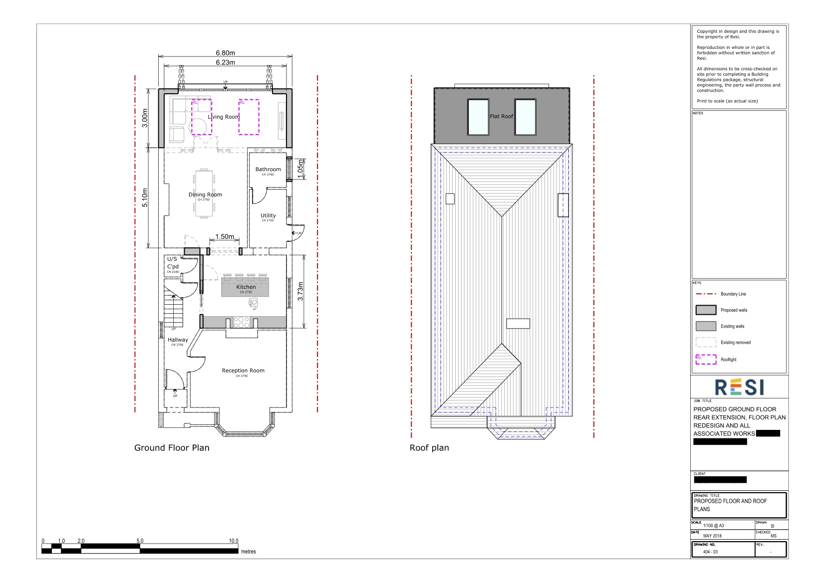Architectural drawings 25   ground floor plans