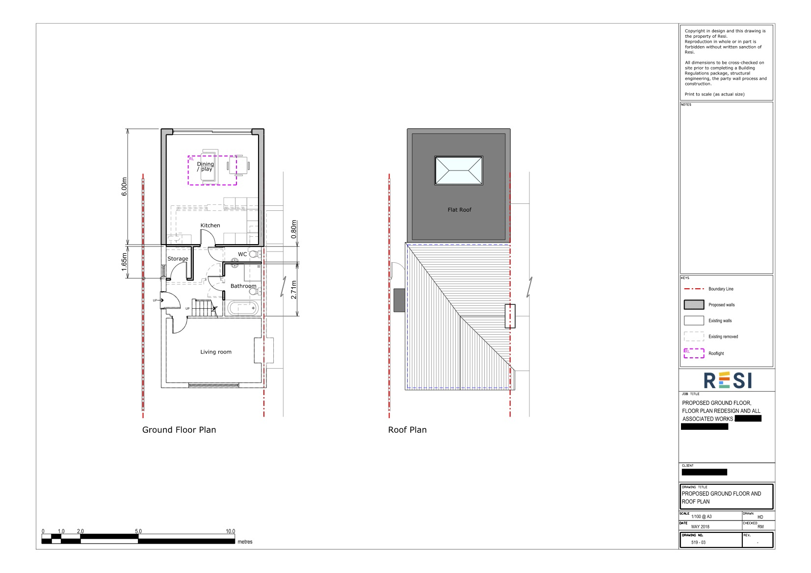 Architectural drawings 28   ground floor plans